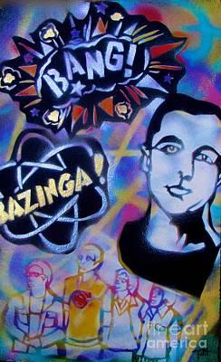 Tony B. Conscious Painting - The  Biggest Bang Theory by Tony B Conscious