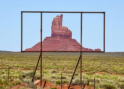 Photograph - Utah Billboard by Rand
