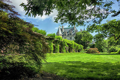 Photograph - The Biltmore Estate Y6737 by Carlos Diaz