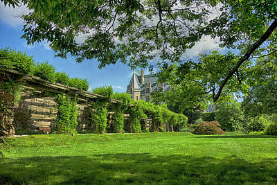 Photograph - The Biltmore Estate Y6738 by Carlos Diaz