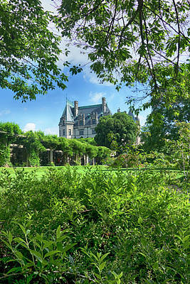Photograph - The Biltmore Estate Y6740 by Carlos Diaz