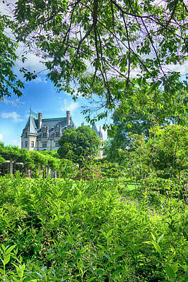 Photograph - The Biltmore Estate Y6742 by Carlos Diaz