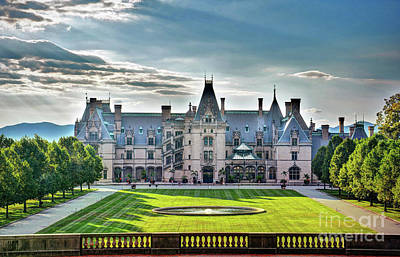 Photograph - The Biltmore House by Savannah Gibbs