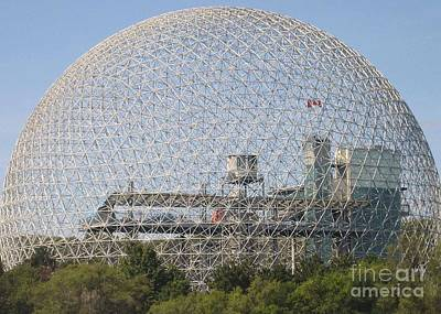 Photograph - The Biosphere  Ile Sainte-helene Montreal Quebec by Reb Frost