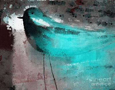 The Bird - J052143191gr Art Print by Variance Collections