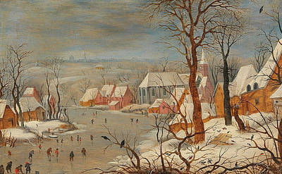 Painting - The Bird Trap by Pieter Brueghel the Younger