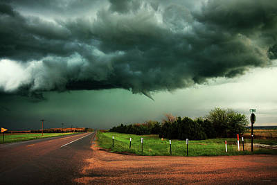 The Birth Of A Funnel Cloud Art Print