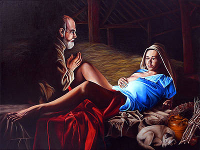 Painting - The Birth by Vic Ritchey