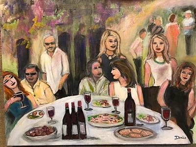 Painting - The Birthday Party by Denice Palanuk Wilson