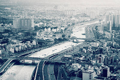 Photograph - The Bisection Of Saigon by Joseph Westrupp