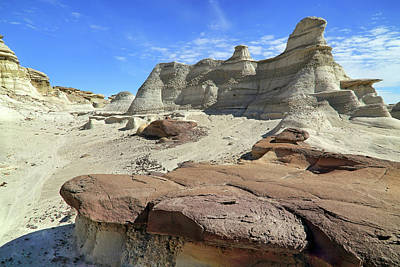 Photograph - The Bisti Badlands - New Mexico - Landscape by Jason Politte