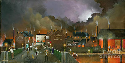 Painting - The Black Country Museum 2 by Ken Wood