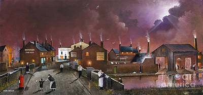 The Black Country Museum Art Print