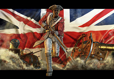 The Black Loyalist Art Print by Kurt Miller