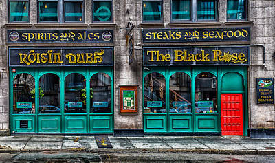 Photograph - The Black Rose Of Boston by Brian MacLean