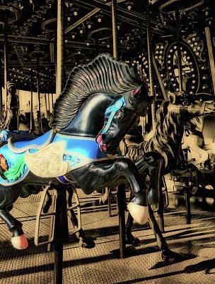 Photograph - The Black Stallion by JAMART Photography