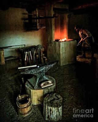 Photograph - The Blacksmith by Jon Burch Photography