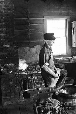 Photograph - The Blacksmith  by Ricky L Jones