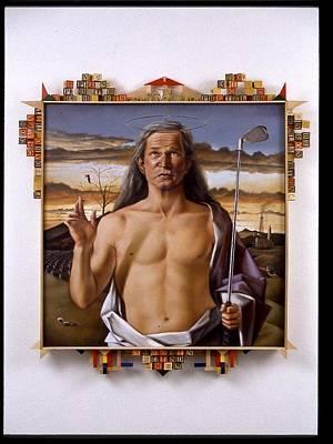 George Bush Painting - The Blasphemous Dream Of Crawford Shrub by JT Grant