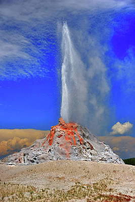 Photograph - The Bleeding Geyser by Richard J Cassato