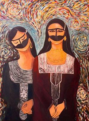 The Blending Of Civilizations Original by Alia K Metref