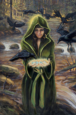Art Print featuring the painting The Blessing by Kurt Jacobson