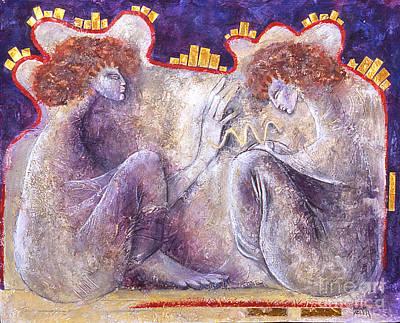 The Blessing Art Print by Marne Adler