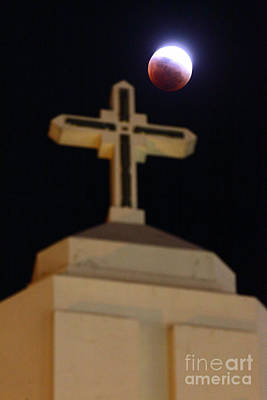 Luna Photograph - The Blood Moon Prophecies by James Brunker