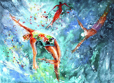 Painting - The Blood Of A Siren by Miki De Goodaboom