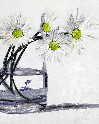 Margherita Painting - The Blossoming Flowers by Daniela Pasqualini