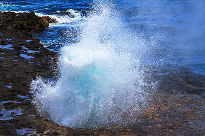 Photograph - The Blow Hole Speaks by Bonnie Follett