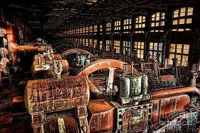 Manufacturing Photograph - The Blower House by Olivier Le Queinec