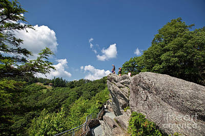 Photograph - The Blowing Rock by Jill Lang
