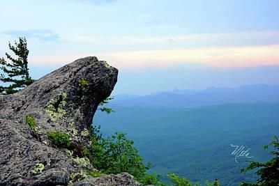 Photograph - The Blowing Rock by Meta Gatschenberger