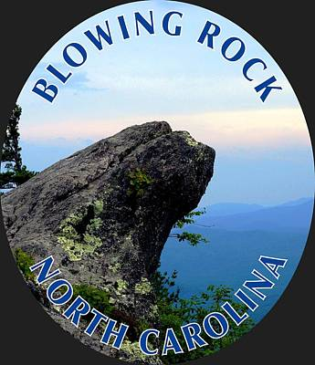Photograph - The Blowing Rock T-shirt by Meta Gatschenberger