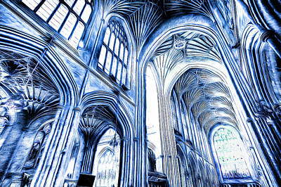 Photograph - The Blue Abbey by David Pyatt