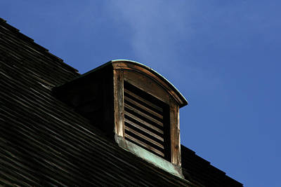 Photograph - The Blue Above by Christine Montague