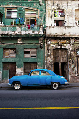 Photograph - The Blue Car I by Yuri Santin