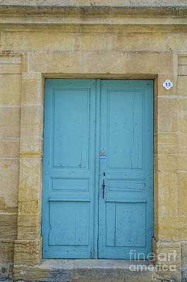 Photograph - The Blue Door by Michelle Meenawong