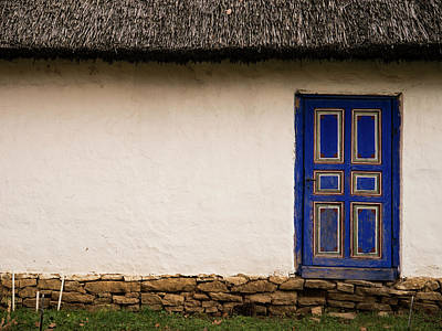 Photograph - The Blue Door by Rae Tucker