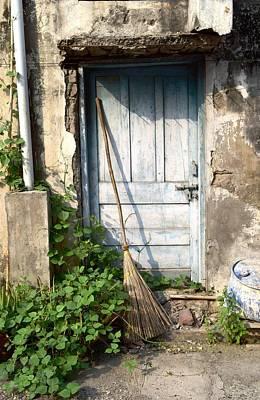 Photograph - The Blue Door by Sumit Mehndiratta