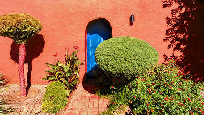 Photograph - The Blue Door by Susan Rissi Tregoning