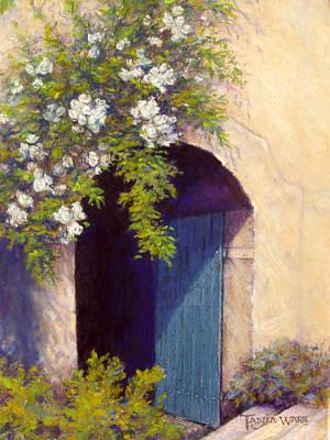 The Blue Door Art Print by Tanja Ware
