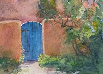 Painting - The Blue Door by Victoria Lisi