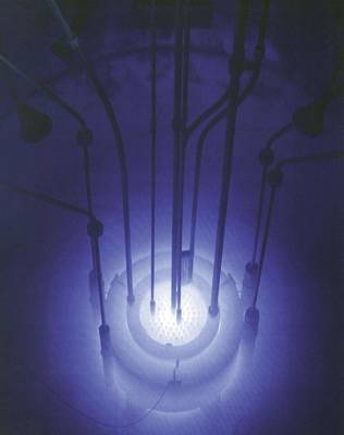 Atomic Photograph - The Blue Glow Of Nuclear Reactors by Everett