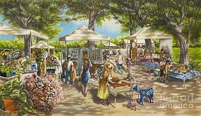 The Blue Goat Market Original