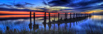 Photograph - The Blue Hour Comes To St. Marks #2 by Don Mercer