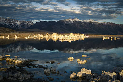 Photograph - The Blue Hour Mono Lake by Kim Swanson
