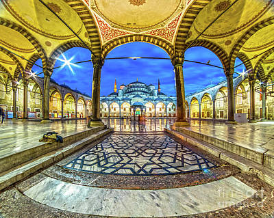 Photograph - The Blue Mosque - Istanbul - Turkey by Luciano Mortula