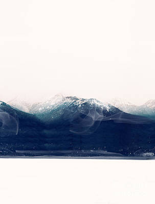 Painting - The Blue Mountain by Bleu Bri